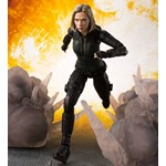 S.H.Figuarts Black Widow & Tamashii Effect Explosion (Avengers - Infinity War) [Bandai] [Preorder]