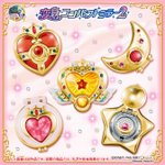 Sailor Moon Henshin Compact Mirror Series 2 Set of 5 (Gashapon) [Bandai]