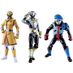 Lupinranger VS Patranger Yu-Do Series 2 Partial Set of 4 (Candy Toy) [Bandai]