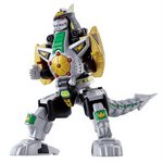 Super Mini-Pla Mighty Morphin Power Rangers Dragonzord (New MMPR Package) [Bandai]