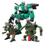 Super Mini-Pla Combat Walker Gallia (Color A) Box of 4 [Bandai]