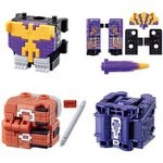 Zyuohger Mini-Pla Series 4 - Cube Condor & Weapon Cube Partial Set [Bandai]