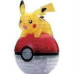 Pokemon 3D Crystal Puzzle - Pikachu & Pokeball [Beverly]