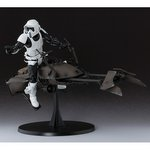 S.H.Figuarts Star Wars Biker Scout with Speeder Bike [Bandai]