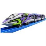 Evangelion Pla-Rail 500 Type Eva with Light (3-Car Set) [Takara Tomy]