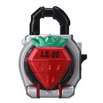 Kamen Rider Gaim Capsule Sound Lock Seed - Strawberry [Bandai]