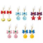 Sailor Moon Gashapon Earphone Charm Set of 5 [Bandai]
