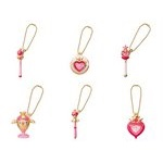 Sailor Moon Diecast Charm Series 2 Gashapon Set of 6 [Bandai]