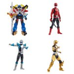 Go-Busters Full Color Action Series 2 Gashapon Set of 4 [Bandai]