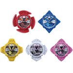 Ninninger DX Real Change - Nin Shuriken 01 Set of 5 [Bandai]
