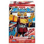 Tokkyuger Mini-Pla Pt 2: Diesel-Oh Candy Toy Set of 4 [Bandai]