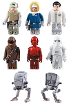 Kubrick Star Wars DX Series 2 Set of 7 With Background Card [Medicom]