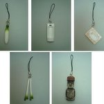 Earth Memory Phone Strap Set of 5 [Jerry Works]