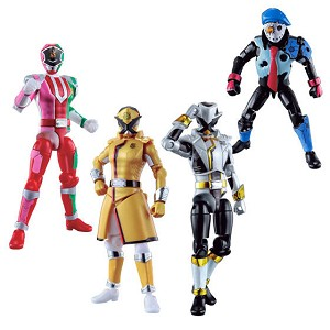 Lupinranger VS Patranger Yu-Do Series 2 Set of 5 (Candy Toy) [Bandai]
