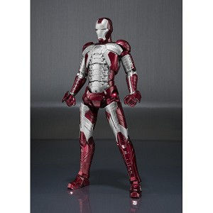 S.H.Figuarts Iron Man Mark V and Hall of Armor Set [Bandai] [Preorder]