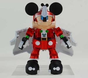 Transformers Disney Label Mickey Mouse Christmas Color Version [Takara Tomy]