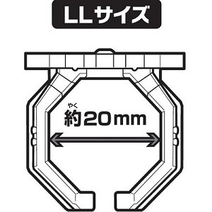 Kamen Rider Wizard Ring Parts Set 20mm LL Size 16-Pack [Bandai]