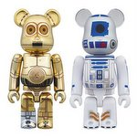 Be@rbrick Star Wars C-3PO & R2-D2 Set [Medicom]
