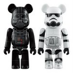 Be@rbrick Star Wars Darth Vader & Stormtrooper Set [Medicom]