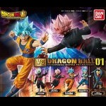 Dragon Ball Super Vs Dragon Ball 01 Set of 5 (Gashapon) [Bandai]