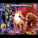 Dragon Ball Super Vs Dragon Ball 03 Set of 4 (Gashapon) [Bandai]