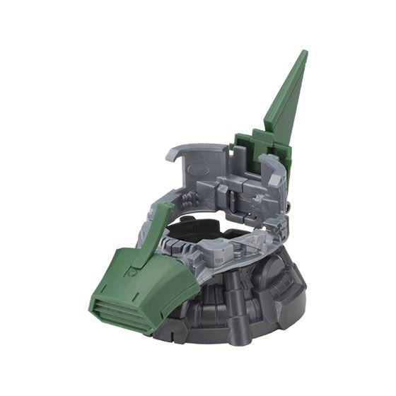 Gundam MS 06 Zaku II Exceed Model Head Customization Parts Vent Fin Green Parts