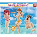 Gasha Portraits - Love Live! Sunshine!! Series 04 Set of 3 (Gashapon) [Bandai]