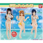 Gasha Portraits - Love Live! Sunshine!! Series 05 Set of 3 (Gashapon) [Bandai]