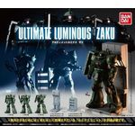 Ultimate Luminous Zaku Set of 5 (Mobile Suit Gundam) (Gashapon) [Bandai]