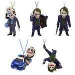 The Joker Figure Strap Gashapon Set of 5 (Batman: The Dark Knight) [Kitan Club]