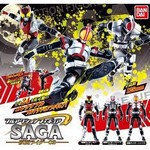 Full Action Figure Saga Kamen Rider 02 Set of 3 (Gashapon) [Bandai]