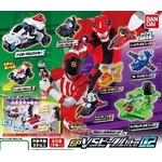 Lupinranger VS Patranger GP VS Vehicle Lite Series 02 Set of 8 (Gashapon) [Bandai]