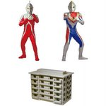 Ultimate Luminous Ultraman 02 Gashapon Set of 3 (Includes 1 Light) [Bandai]