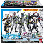 So-Do Kamen Rider Zi-O Ride6 Featuring Kamen Rider Build Set (Series 6 Complete Set) [Bandai]