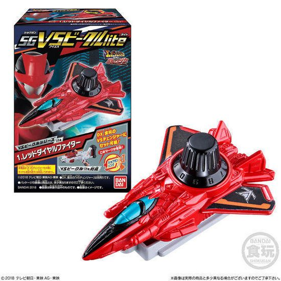 Lupinranger VS Patranger SG VS Vehicle Lite Series 1 Set of 6 (Candy Toy) [Bandai]