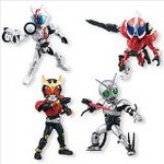 Kamen Rider 66 Action Series 6 Set of 4 [Bandai]