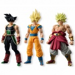 Dragon Ball Shodo 3.75-Inch Action Figure Series 1 Set of 3 [Bandai]