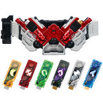 Kamen Rider Henshin Belt ver.20th DX Double Driver [Bandai]