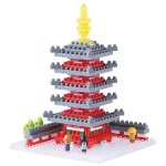 Nanoblock Exclusive Five-Storied Pagoda (NBH-088) [Kawada]