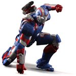 Super Alloy 1/12 Iron Patriot (Iron Man 3) [Play Imaginative]