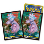 Pokemon Card Game Deck Shield - Mewtwo & Mew Tag Team GX (64 Card Sleeves) [Pokemon]
