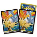 Pokemon Card Game Deck Shield - Moltres & Zapdos & Articuno (64 Card Sleeves) [Pokemon]