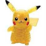 Pokemon 3D Crystal Puzzle - Pikachu (65 Piece Version) [Beverly]