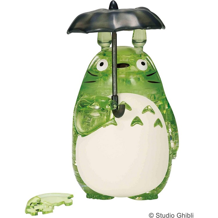Totoro Green Ver. Crystal Puzzle (42 Pieces) [Beverly]