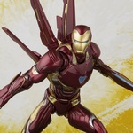 S.H.Figuarts Iron Man Mark 50 Nano-Weapon Set (Avengers - Infinity War) [Bandai] [Preorder]