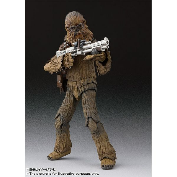 SH S.H Figuarts Solo A Star Wars Story Chewbacca Bandai Japan NEW***