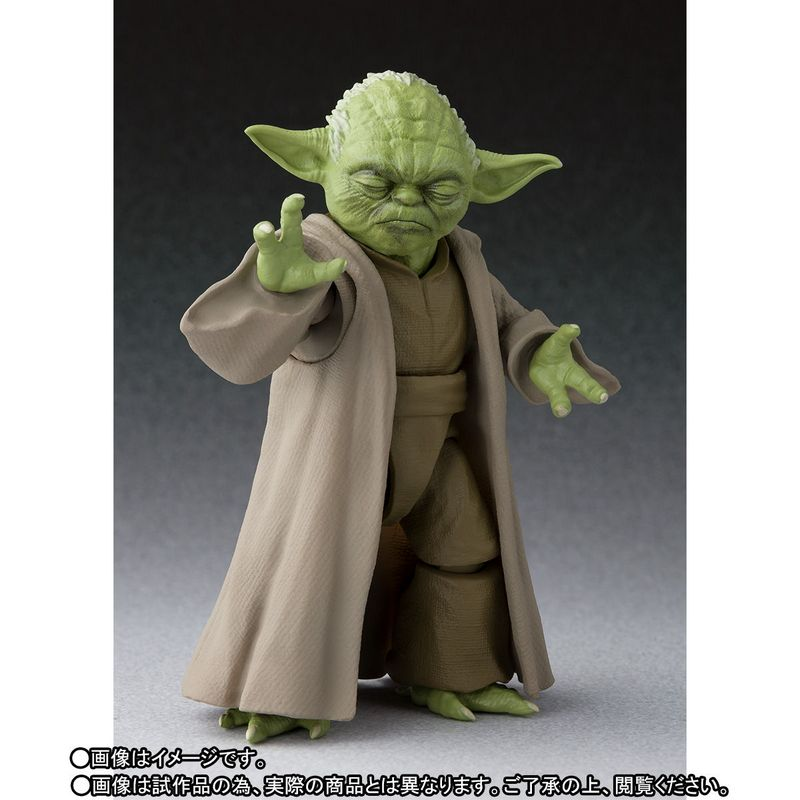 EGG FORCE STAR WARS YODA Action Figure BANDAI Japan