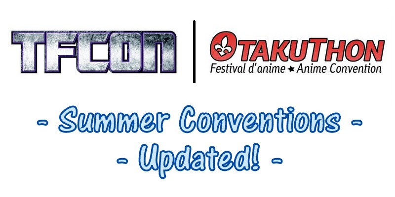 Summer Convention Update!