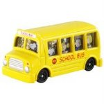 Peanuts Dream Tomica - Snoopy's School Bus [Takara Tomy]