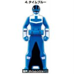 Gokaiger Ranger Key - Time Blue (Candy Toy) [Bandai]